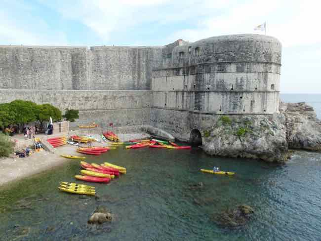 Outer walls of Dubrovnik