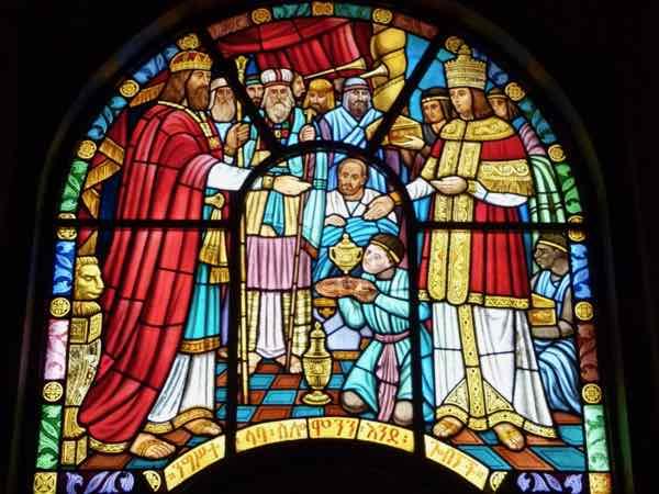 Window In Holy Trinity Church, Addis Ababa