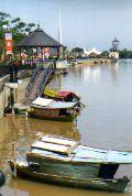 Sarawak River Kuching Island of Borneo