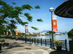 Kuching Waterfront Sarawak Borneo