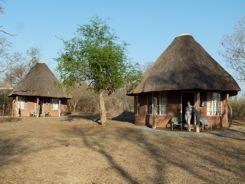 Guest Rondavels in Royal Hlane National Park Swaziland