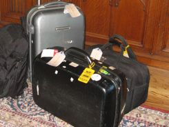 Carry-on suitcases for packing light