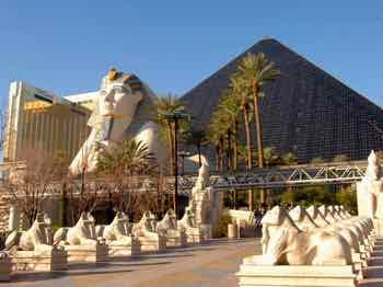 Luxor Hotel on the Las Vegas Strip