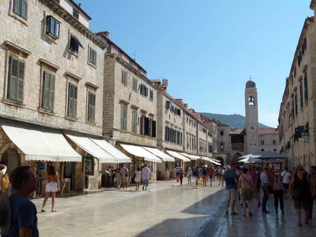 Stradun Street or Placa, Dubrovnik