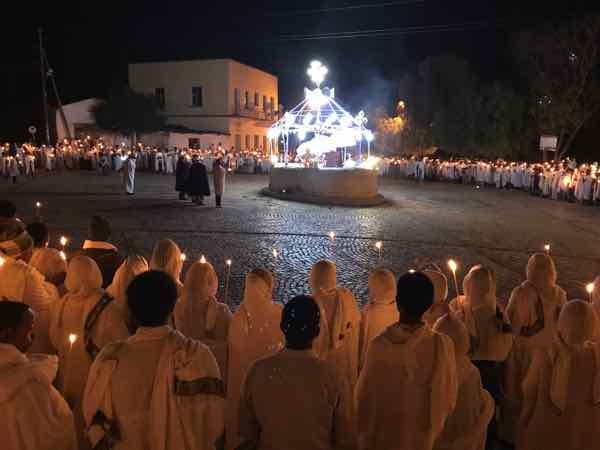 Procession at St. Mary of Zion Church, Axum