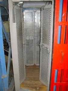 Miner's elevator - Krakow salt mine