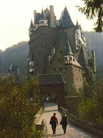 Burg Eltz (Eltz Castle) Above the Mosel River