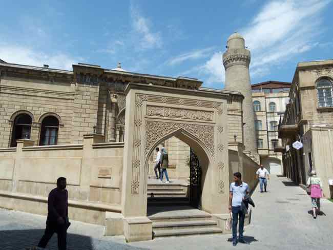 Cume (Friday) Mosque.  Old Town Baku, Azerbaijan