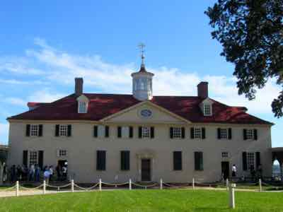 George Washington Home at Mount Vernon