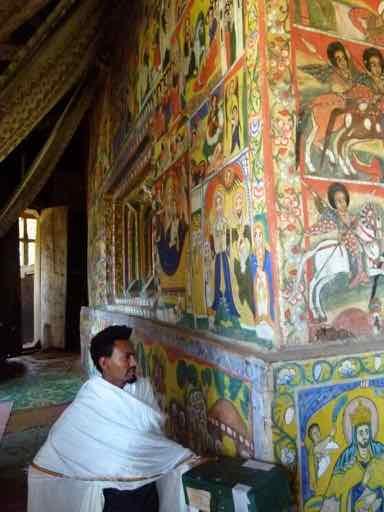 Ura Kidane Mehret, Zege Peninsula, Ethiopia