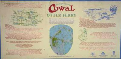 Cowal Marker with Otter Ferry and MacEwen Lands