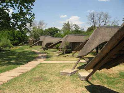 Safari rooms made you feel you were already into the bush.