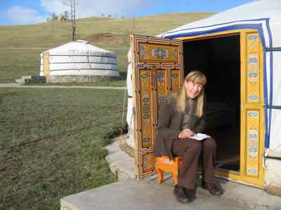 NO internet connection at this hotel in a Mongolian National Park