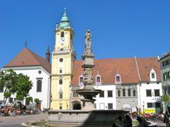 Main Square Old Town Bratislava