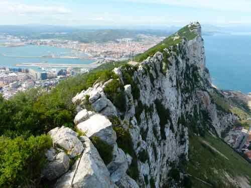 Gibraltar - from the top of the rock