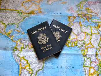 Passports let you travel the world