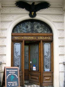 Apotheke or Pharmacy in Old Town Prague