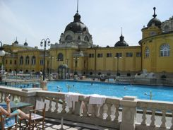 Outdoor Pool Szechenyi Baths Budapest
