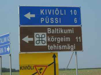 Amusing Roadsign in Estonia looks suggestive