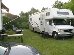 RVs are popular at Oshkosh