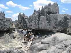 Rest stop Big Tsingy hike