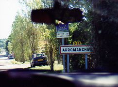 International road signs in France