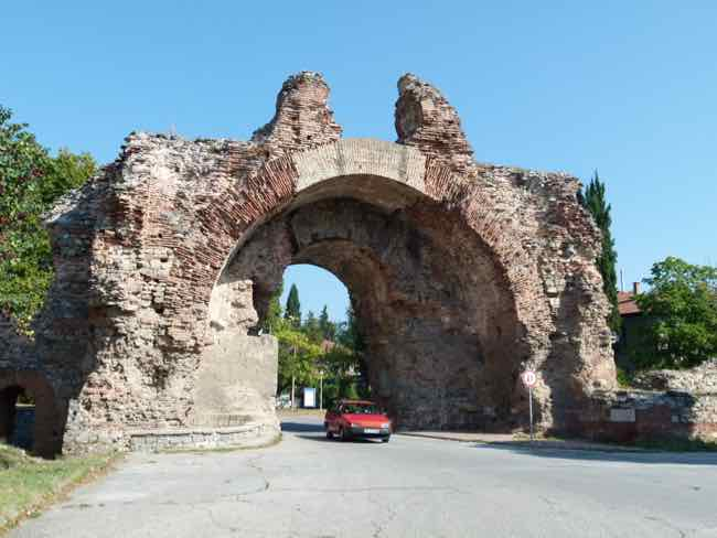 Hisarya with Roman Gate