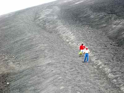 Cerro Nego Volcano in Nicaragua