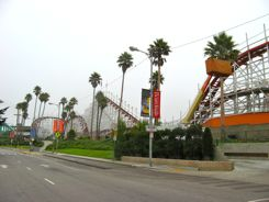 Santa Cruz Beach Boardwalk Big Dipper Roller Coaster