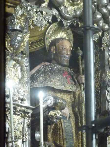 Statue of St. James on the High Altar