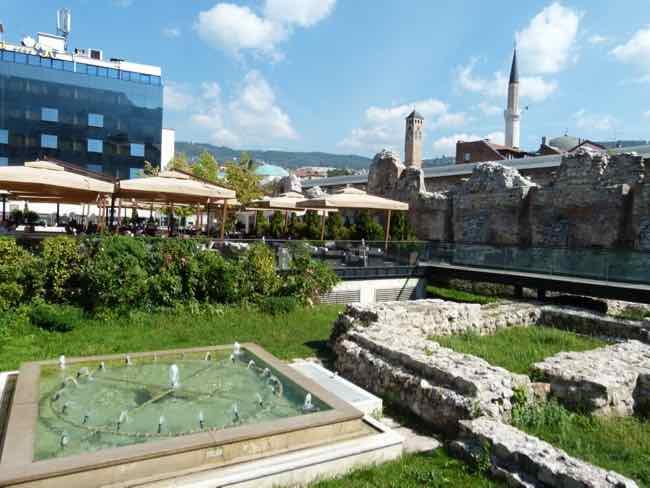 Ruins of the Taslihan Caravanserai, Sarajevo