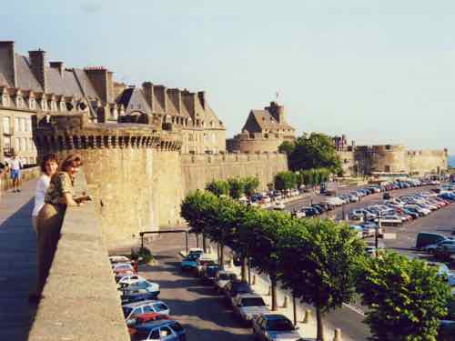 Ramparts of St Malo