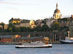 Ferries Get You Around Stockholm
