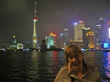 Loved to stroll on the Bund in Shanghai