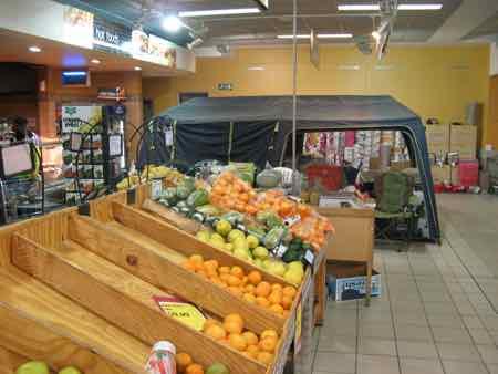 Supermarket in the Caprivi Strip, Namibia