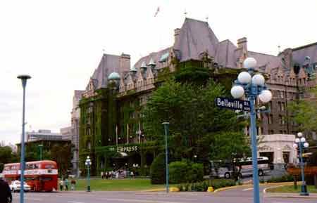 The Empress Hotel, Victoria BC
