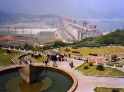 Three Gorges Dam - Yantze River China