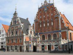 Townhall Square Riga, Latvia