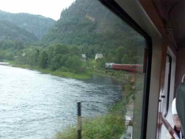 Train from Bergen to Oslo