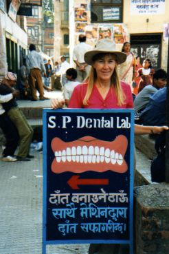 Dental Offices sign - Kathmandu, Nepal