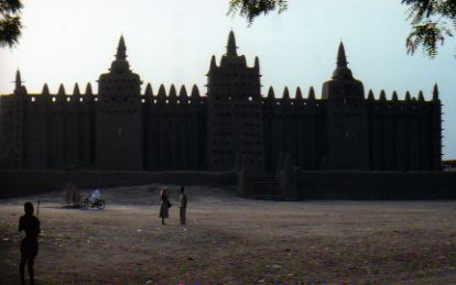 Djenne Mosque in Mali Africa