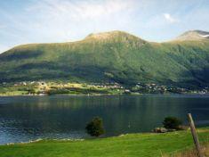 Fiksdal across the Molde Fjord