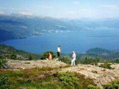 Varalsoy Island Hardanger Fjord