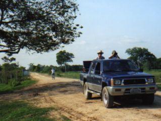 Driving the Transpantaneira Highway Brazil