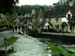 Travel England - see cute little villages like Castle Coombe