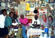 Visiting a home in Kenya Africa