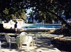 Pirates Point Resort Pool -- Caribbean Sea
