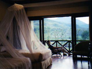 Malaria nets help prevent malaria.