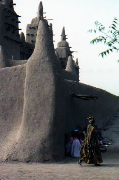 Not Timbuktu--Djenne mosque