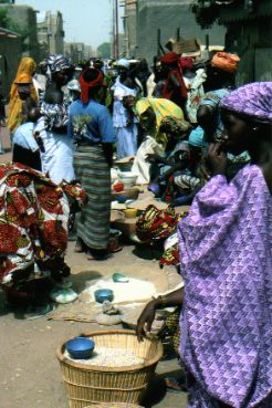 Ladies in the Mopti Market